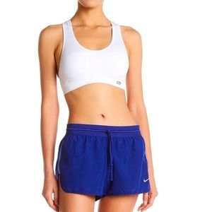 Nike Mesh Panel Running Shorts Blue